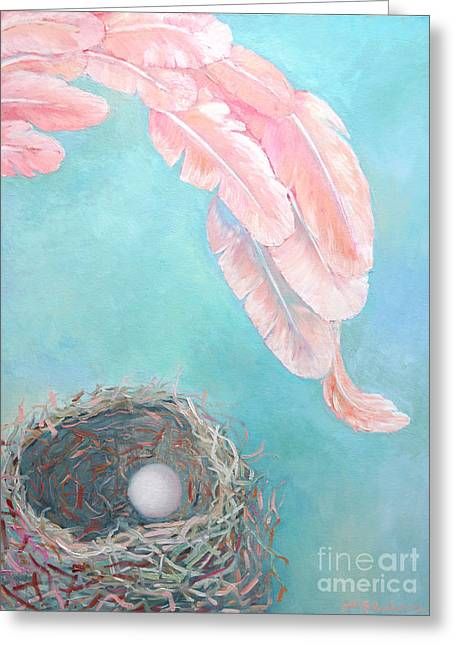 Angel's Nest Greeting Card