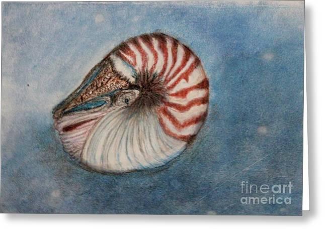 Angel's Seashell  Greeting Card
