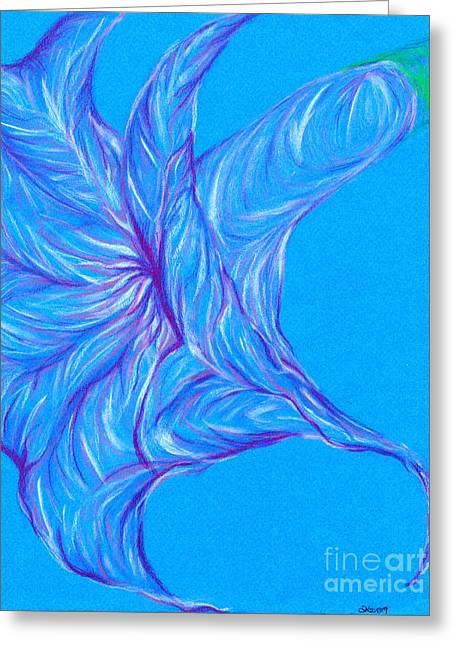 Greeting Card featuring the photograph Angel's Trumpet by Kim Sy Ok