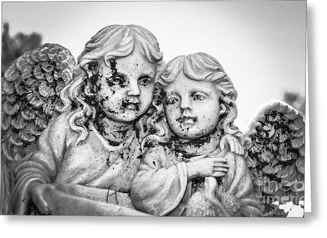 Angels With Dirty Faces Greeting Card