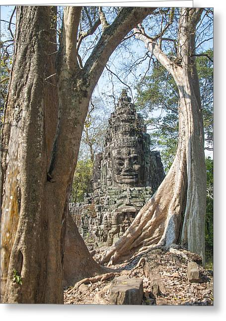 Angkor Thom South Gate Greeting Card