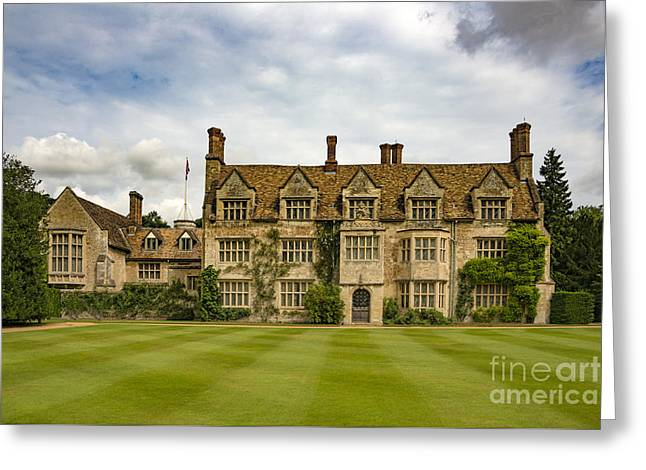 Anglesey Abbey Greeting Card by Svetlana Sewell