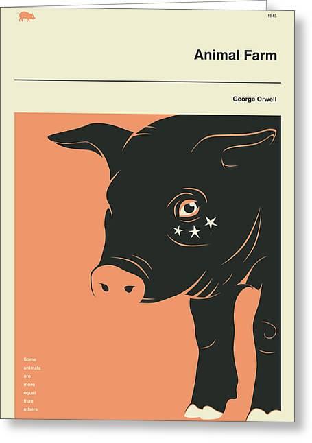 Animal Farm Greeting Card