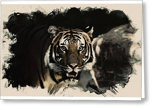 Animal Kingdom Series - Bengal Tiger Greeting Card