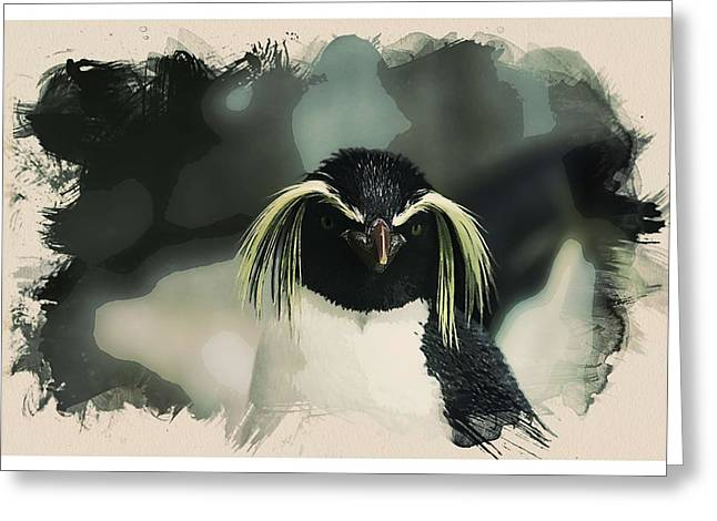 Animal Kingdom Series - Emperor Penguen Greeting Card