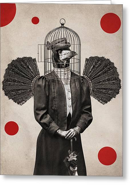 Animal14 Greeting Card by Francois Brumas