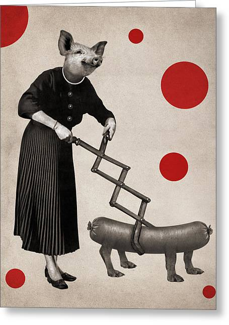 Animal9 Greeting Card by Francois Brumas