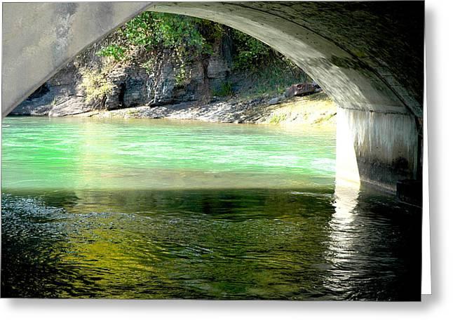 Animas River Greeting Card by Matthew Angelo