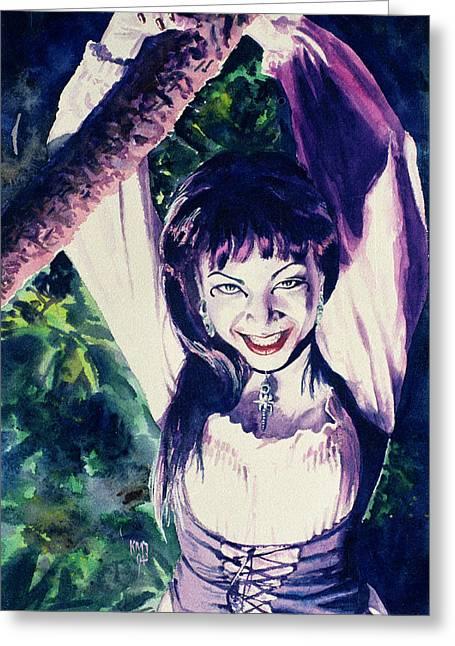 Anissa Greeting Card by Ken Meyer