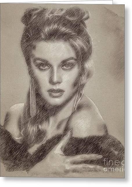 Ann-marget, Actress Greeting Card