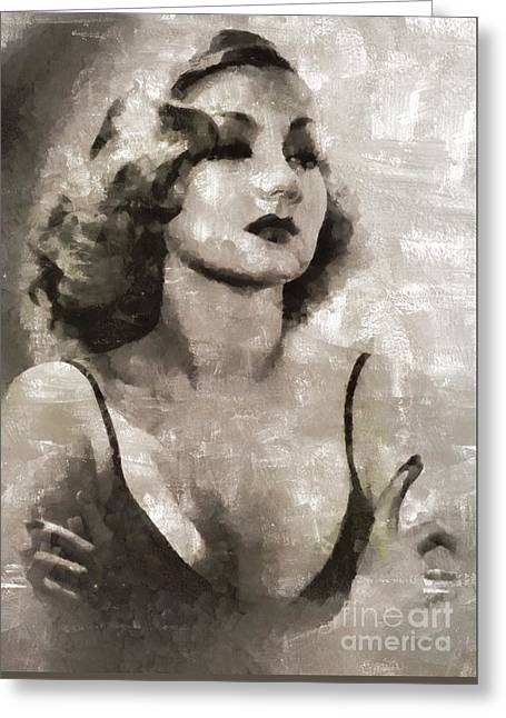 Ann Sothern, Actress Greeting Card