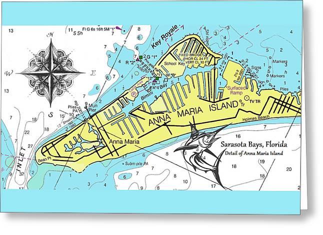 Anna Maria Island Greeting Card
