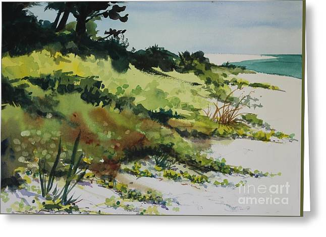 Anna Marie Island Greeting Card