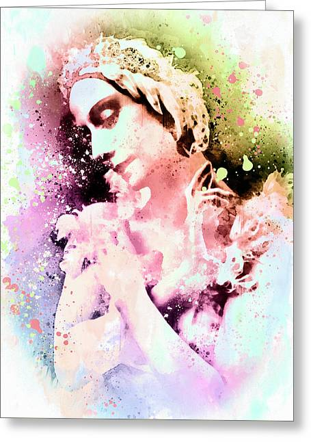 Anna Pavlova Whimsical Ballerina Greeting Card