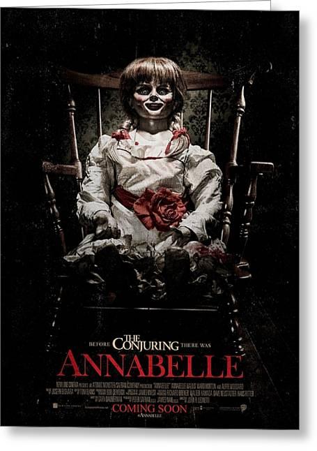 Annabelle 2014 Greeting Card by Caio Caldas
