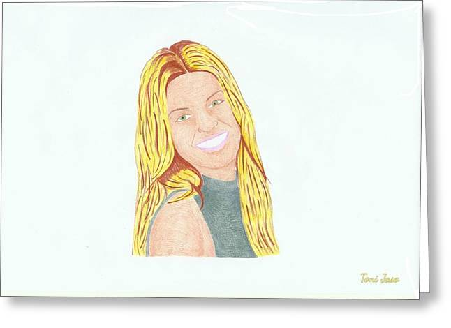 Annalynne Mccord Greeting Card