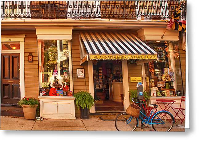 Annapolis Bookstore Greeting Card