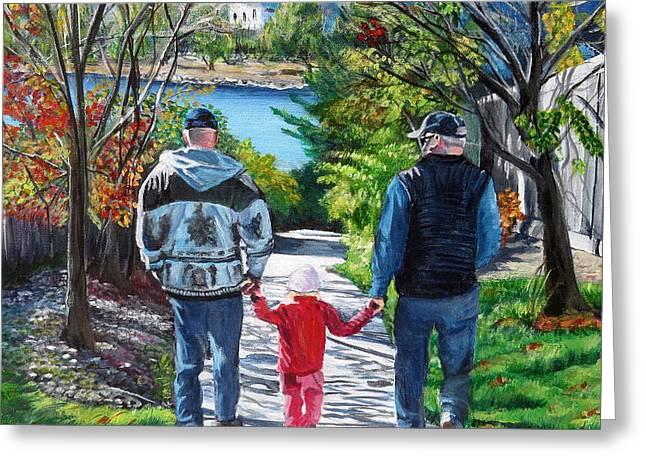 Anna's Grandpa's Greeting Card by Marilyn  McNish