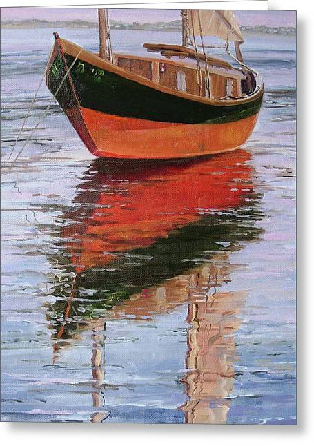 Anna's Tide Come In Greeting Card