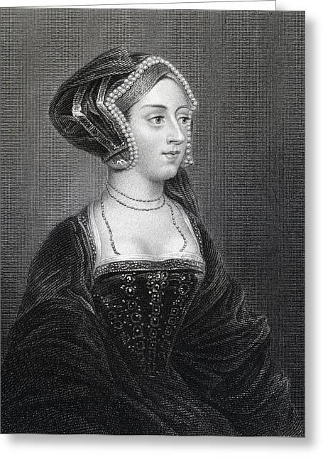 Anne Boleyn, Also Spelled Greeting Card