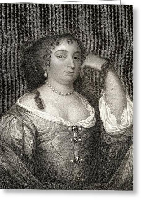 Anne Hyde, Duchess Of York, 1637-1671 Greeting Card