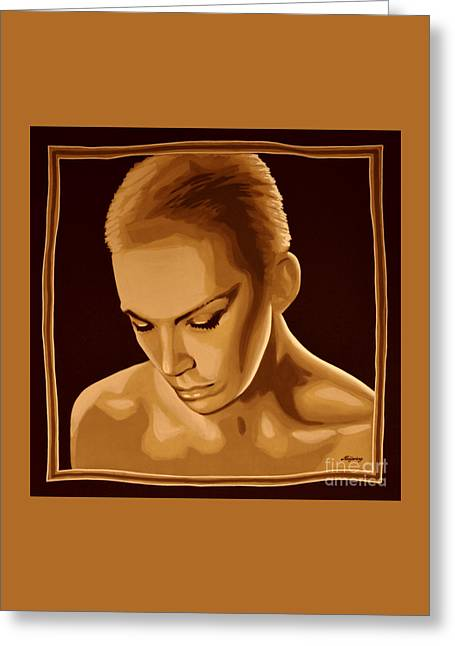 Annie Lennox Greeting Card