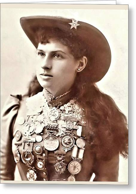 Annie Oakley 1 Greeting Card