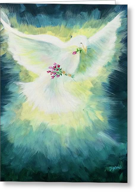 Anointed Greeting Card