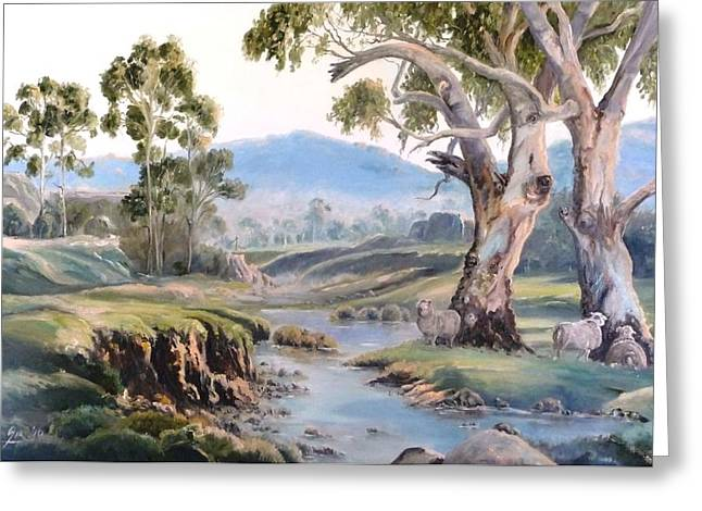 Another Australia Day Greeting Card by Diko