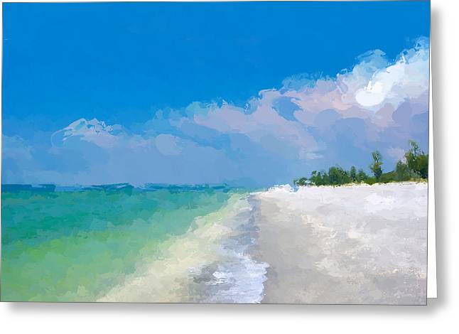 Another Beach Day Greeting Card