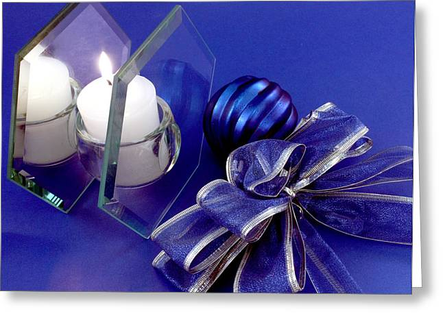 Another Blue Christmas Greeting Card