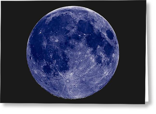 Another Blue Moon Greeting Card