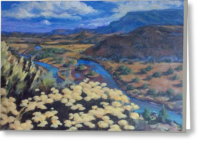 Another Day Above Rio Chama Greeting Card