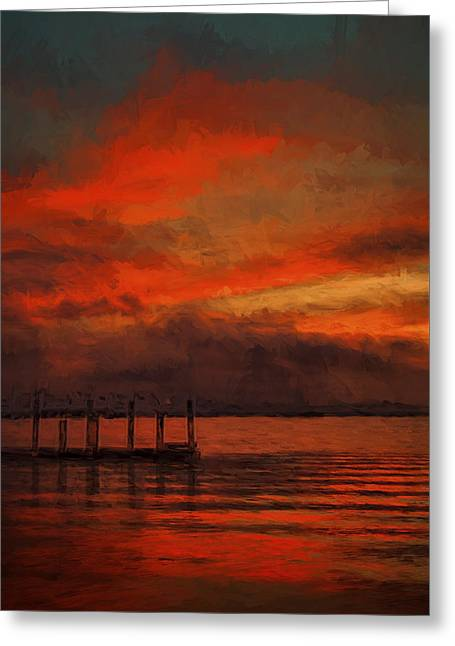 Another Day Is Done 2 Greeting Card by Dave Bosse