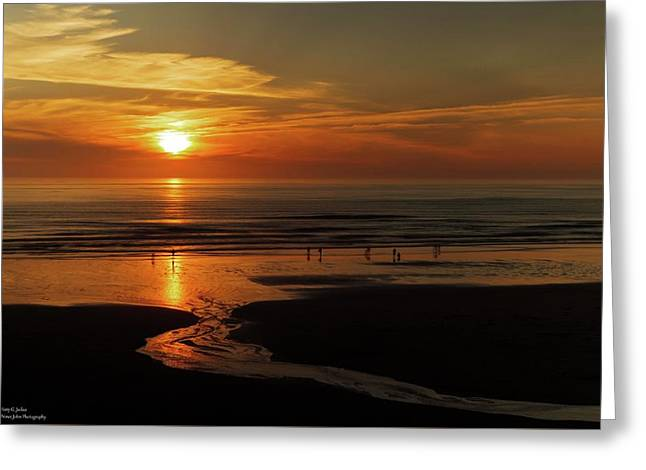 Another Fine Oregon Sunset  Greeting Card by Hany J