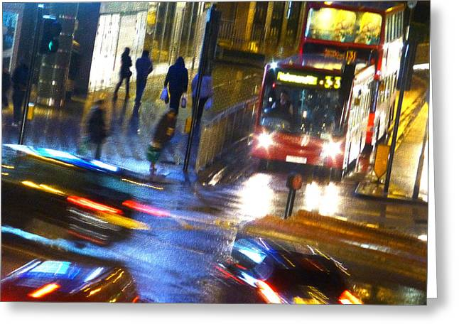 Greeting Card featuring the photograph Another Manic Monday by LemonArt Photography