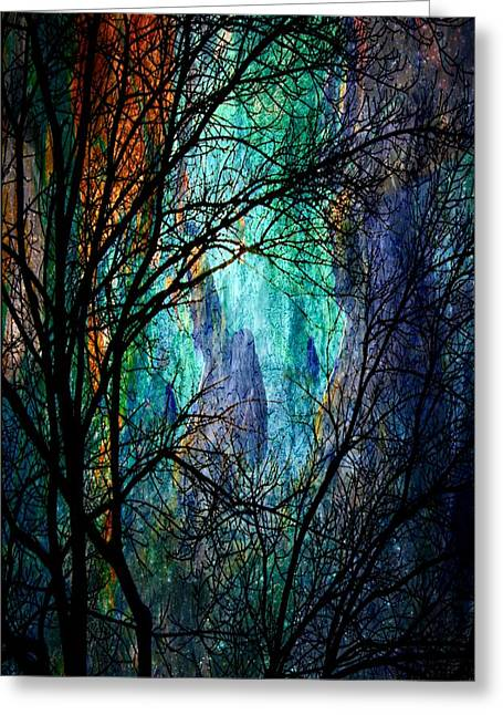 Another Night In The Canyon Greeting Card