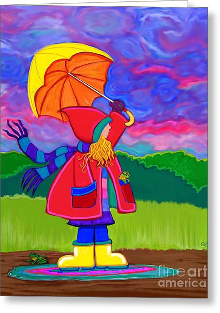 Another Stormy Monday Greeting Card by Nick Gustafson