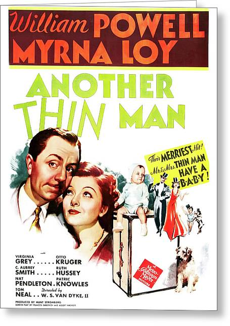 Another Thin Man 1939 Greeting Card by M G M