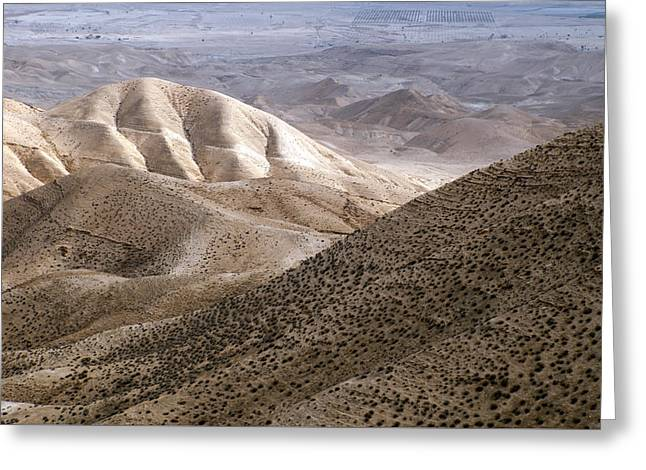 Another View From Masada Greeting Card