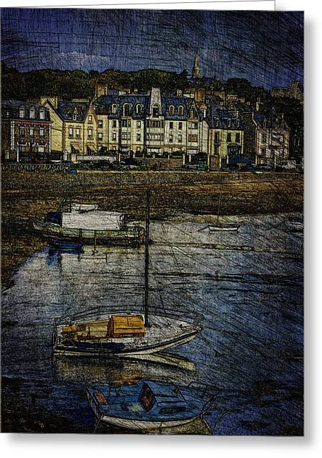 Anse Solidor #b Greeting Card by Karo Evans