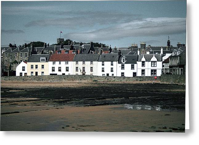 Anstruther Beach Greeting Card