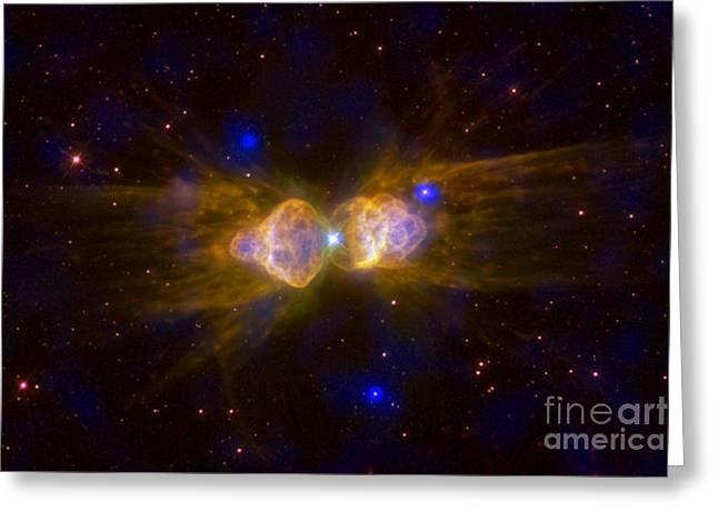 Ant Nebula, Bipolar Planetary Nebula Greeting Card by Science Source