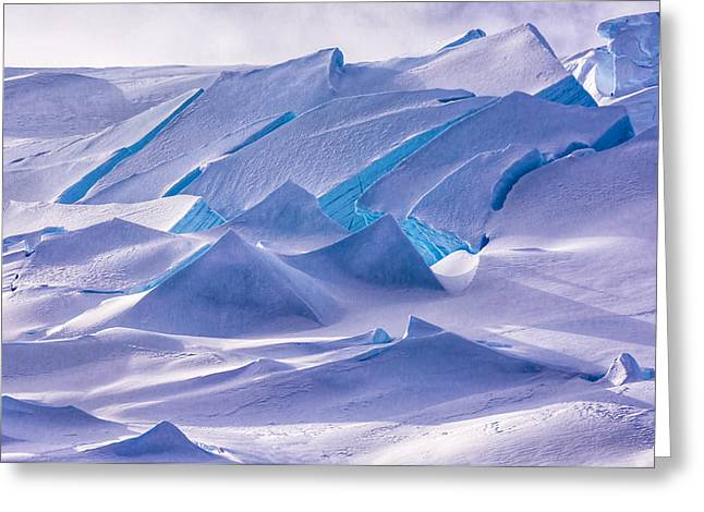 Antarctic Landscapes  Greeting Card