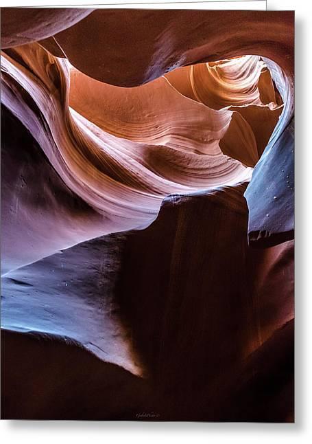 Antelope Canyon 11 Greeting Card