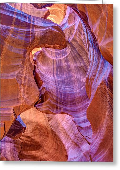 Antelope Canyon Beauty Greeting Card by Pierre Leclerc Photography