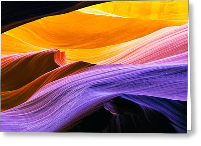 Antelope Canyon  Greeting Card by Frank Wicker