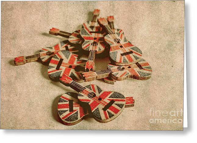Anthem Of Old England Greeting Card
