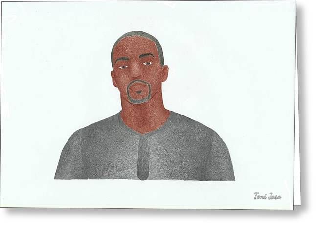 Anthony Mackie Greeting Card