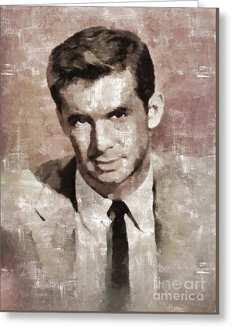Anthony Perkins, Actor Greeting Card